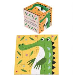 A mini 24 piece puzzle in a box featuring Harry the Crocodile design. A lovely stocking filler and gift item.