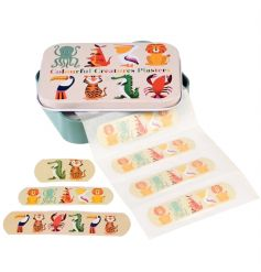 A Colourful Creatures design tin and 30 plasters. The perfect way to heal those cuts.