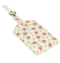 A pretty and practical fabric luggage tag with matching gift box. From the popular La Petite Rose range.