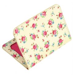 A pretty and practical travel card holder in the popular La Petite Rose design.