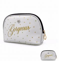 New in from the beautifully stylish Mad Dots Range, is their 'Gorgeous' cosmetic bag
