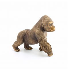 A fine quality medium sized Gorilla ornament from the popular Bronzed Reflections range.