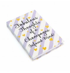 A stylish new line of fabulously finished striped memo books with pen