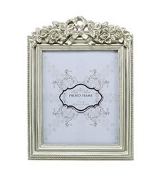Add a hint of elegance to any room with this sweet and simple frame