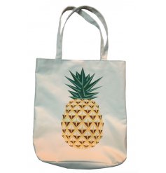 Shop till you drop with this stylish summer themed pineapple shopping bag