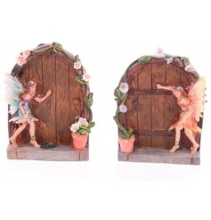 Bring a hint of mystical magic with these little secret fairy doors.