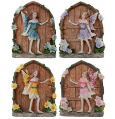 Add these magical polyresin based fairy doors around your home