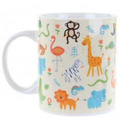 A fun and funky way for your little one to be gown up with their own drinking mug!