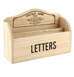 This shabby chic themed letter holder from the new 'Vintage Home' range will be sure to bring style to any space