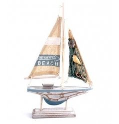 A Small Sailing Boat Ornament