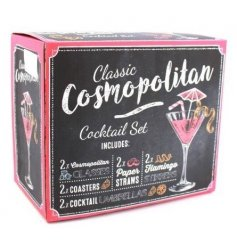 Bring some fun to your summer parties with these stylish cocktail themed gift sets