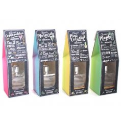 4 quirky and colourful reed diffusers with the summer smell of popular cocktails