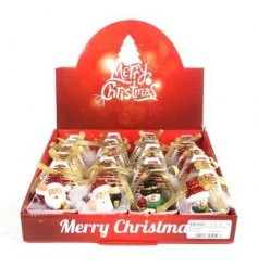 A cute assortment of little resin christmas figures