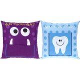 An assortment of 2 tooth fairy cushions with pocket. Perfect for leaving your missing tooth ready for the tooth fairy