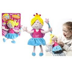 A plush tooth fairy doll with a pocket to store your fallen tooth.