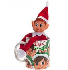 This cheeky little red elf will be the cause of all this upcoming christmas mayhem!