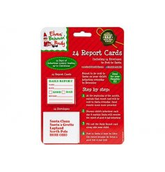 A pack of 24 mini report cards to Santa