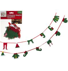 Fun and original festive bunting to decorate your home this season.