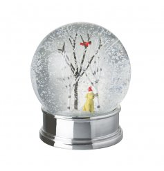 This charming snow globe is a must have for dog lovers! An irresistible xmas item with a labrador in a Christmas hat.