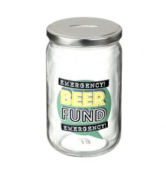 Save your pennies for that emergency beer! A great novelty gift item.