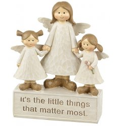 It's the little things that matter most. A pretty angel sentiment plaque. A great gift item to be treasured.
