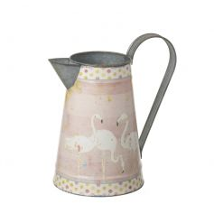A pretty flamingo design jug. Perfect for your freshly cut Spring flowers or your pick of our artificial blooms.