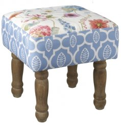 This simply stylish cushioned footstool is the perfect addition for any room