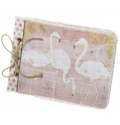 This pretty watercolour flamingo note book is a great way to jot down all your summer plans