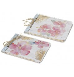 This set of pretty watercolour flower note books are a great way to jot down all your summer plans