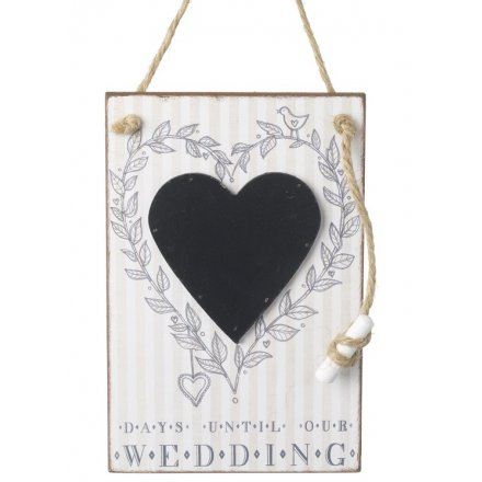 Days Until Our Wedding Chalkboard