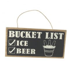Hang this above any drinking station to make sure everybody has what they need for the party!