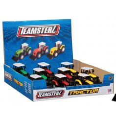 This cool assortment of Farm Tractors are a great pocket money toy for any car loving child!