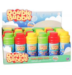 A great pocket money priced item which everyone enjoys! Double the fun with bubbles.