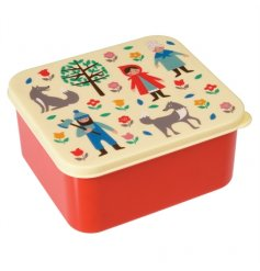 Have a fairytale lunch with this Red Riding Hood design lunch box.