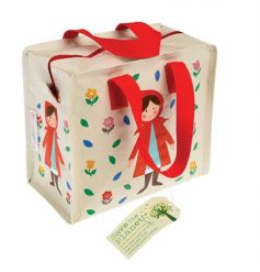 A fairytale lunch bag with a woven handle and zip. A must have storage item and for picnics on the go.