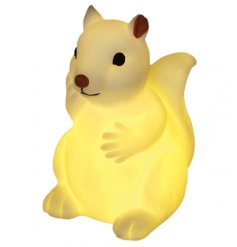 Drift off and dream big with this adorable squirrel shaped night light.