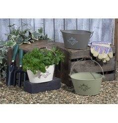 Perfect for use as hampers and for planting up your Spring blooms,
