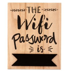 Give your guests what they really want while in your home.. The wifi code