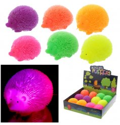 This neon coloured super squidgy hedgehog is the perfect entertainment toy for the kids,