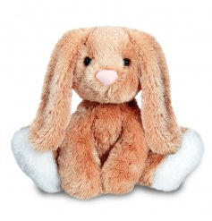 This adorable little floppy bunny will be the perfect snuggly compainion for any little one.
