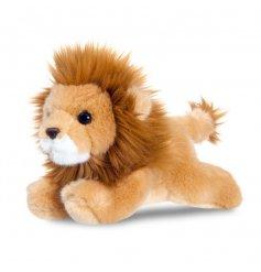 From the wonderful range of Aurora World is this super snug sitting lion