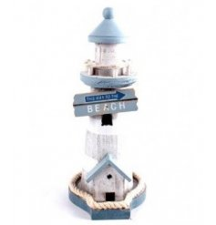 A medium sized lighthouse decoration