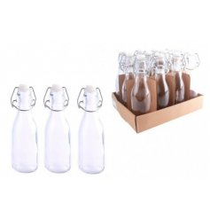 a 250ml glass storage bottle