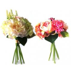 A assortment of 2 floral summer bouquets