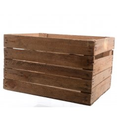Rustic vintage apple crate, great for storage and display