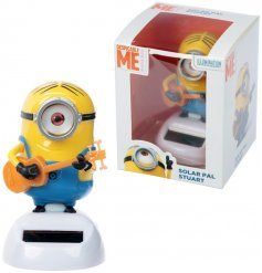 A fantastic new addition to the Solar Pals Range is Stuart From the popular Minion Movie Franchise