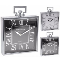 This stylish assortment of table clocks will be sure to bring that modern luxe feel to any space