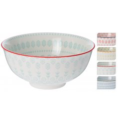 This beautiful and colourful assortment of ceramic bowls will be sure to bring a warming spring vibe to any kitchen