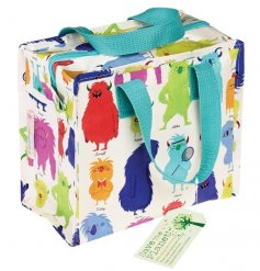 This colourful lunch/storage bag is made from recycled bottles. It is perfect for lunch on the go.