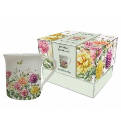 A single boxed rose garden mug